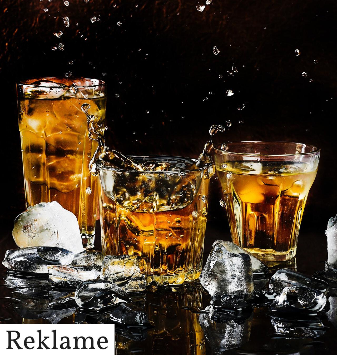 Glas til alkohol